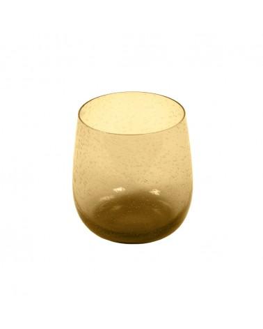 AA8537C28 - Yellow Dusnela glass