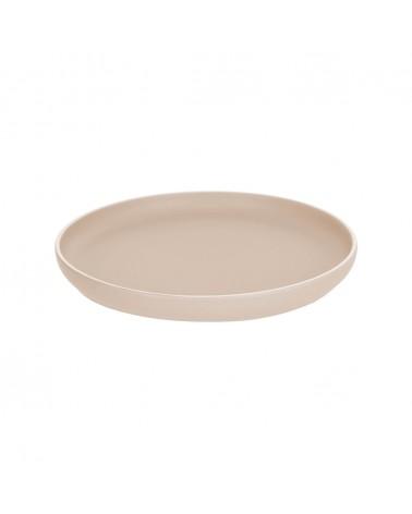AA7028K12 - Shun flat plate in beige porcelain