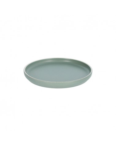 AA7029K19 - Shun dessert plate in green porcelain