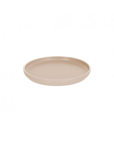 AA7029K12 - Shun dessert plate in beige porcelain